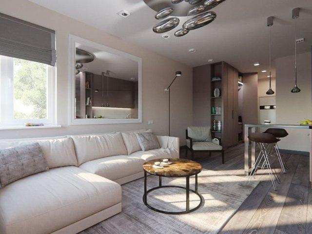 Việc sử dụng nội thất 2 trong 1 này giúp chủ nhà tiết kiệm tối đa diện tích và tạo không gian thoáng mát cho ngôi nhà.