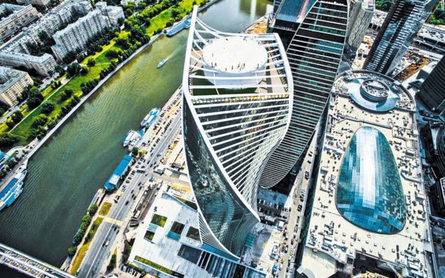 Công trình Evolution Tower ở Moscow được hoàn thành năm 2015