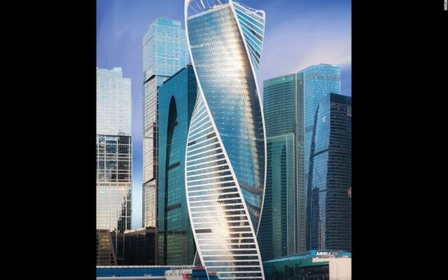Tòa tháp Evolution cao 246m