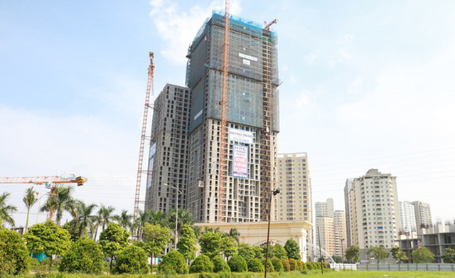 Nhà cao tầng tiếp tục mọc lên ở khu phía Tây, Tây Nam.