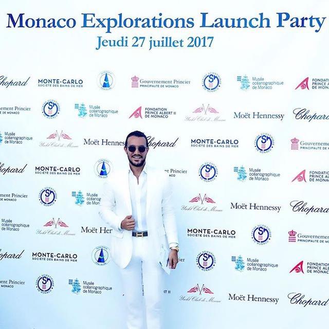 Emir Bahadir mới đây đã tham dự sự kiện thảm đỏ Monaco do Hoàng từ Prince Albert tổ chức.