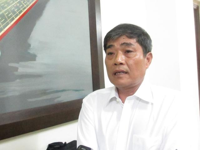 Ông Lưu Văn Hào, Phó Chủ tịch HĐQT Công ty đầu tư quốc lộ 1 Tiền Giang