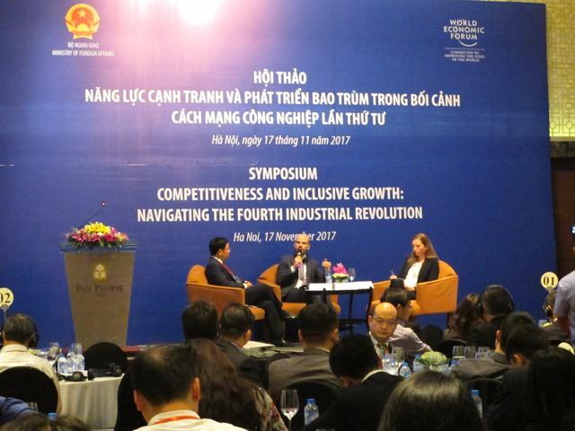 Phó Thủ tướng Vương Đình Huệ: Cách mạng 4.0 là cuộc cách mạng về phát hiện nhu cầu hơn là công nghệ - Ảnh 1.