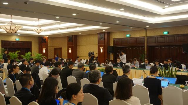 Các đại biểu dự Hội nghị của Ủy ban Thương mại và Đầu tư (CTI). Ảnh: Linh Anh
