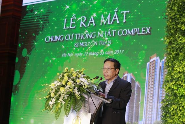 Ông Nguyễn Sơn Chủ tịch HĐTV Công ty TNHH Thống Nhất Bắc Việt.