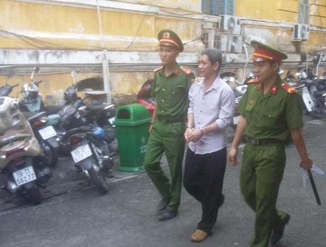 Bị cáo Ngô Văn Tâm sau phiên xử