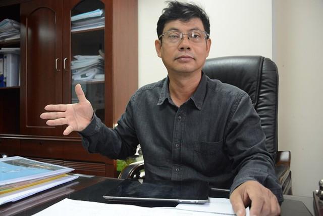 Ông Vũ Huy Thắng, Giám đốc công ty cổ phần Bilco, người đề xuất ý tưởng xây cáp treo từ hai công viên Hoàng Văn Thụ, Gia Định vào sân bay Tân Sơn Nhất để giảm kẹt xe ở khu vực này. Ảnh: Phước Tuần.