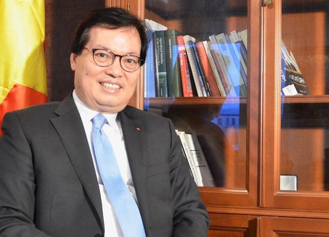 Đại sứ - Trưởng Phái đoàn Việt Nam tại Geneva (Thụy Sĩ) Dương Chí Dũng. Ảnh: TTXVN