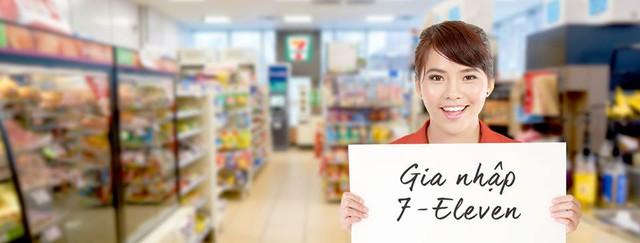 7-Eleven chính thức thông báo tuyển dụng tại Việt Nam