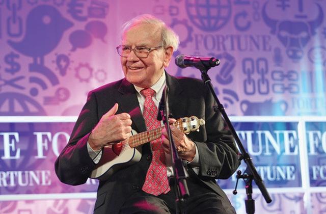 Tỉ phú Buffett quan niệm sống nhẹ nhàng.