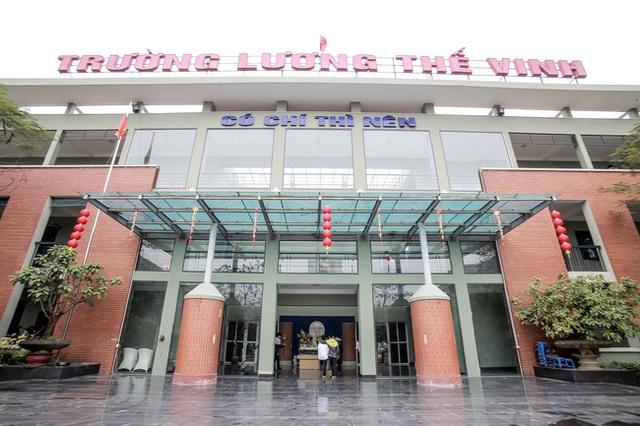 Trường Lương Thế Vinh - tâm huyết cả đời của GS Văn Như Cương.