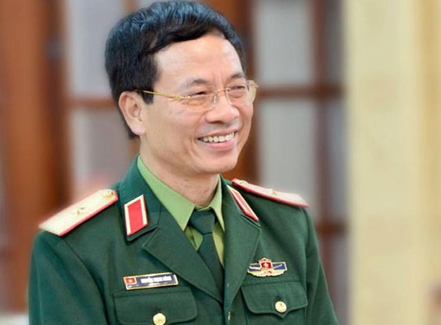 Tổng giám đốc Tập đoàn Viettel Nguyễn Mạnh Hùng