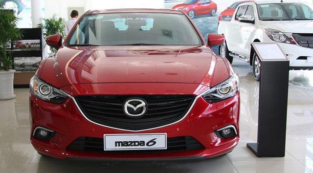 Mazda 6 đang trở thành một mẫu xe hấp dẫn nhờ có giá mềm.