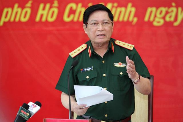 Đại tướng Ngô Xuân Lịch khẳng định chủ trương quân đội làm kinh tế là đúng đắn