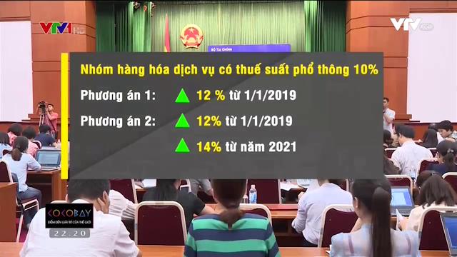 Đề xuất tăng thuế VAT của Bộ Tài chính