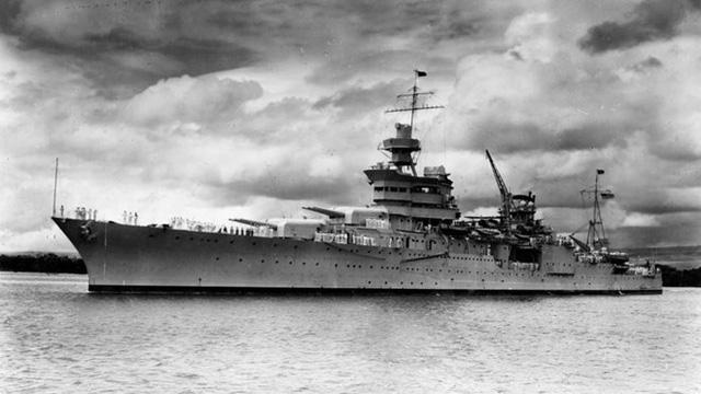 Tàu USS Indianapolis năm 1937. (Nguồn: U.S. Navy)
