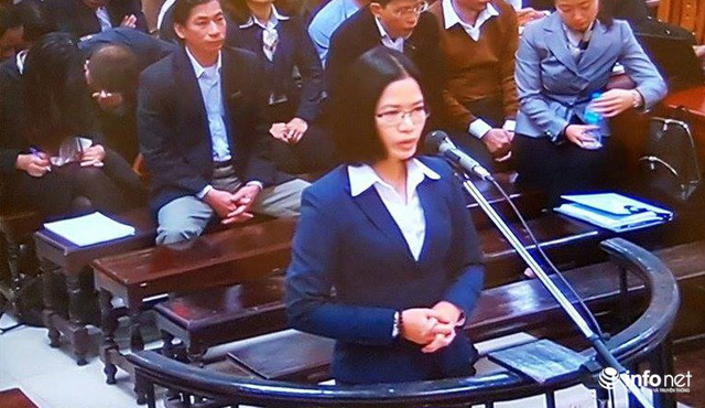Bị cáo Nguyễn Thị Nga.