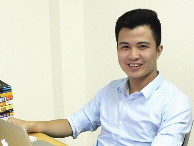 CEO TopCV Trần Trung Hiếu.
