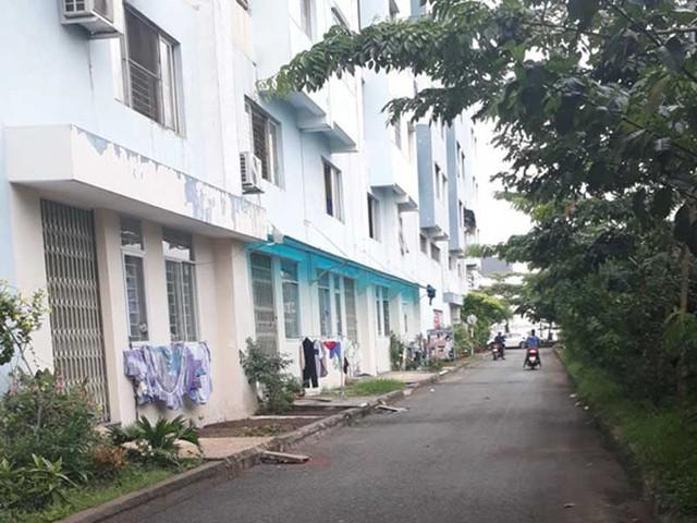 Năm căn hộ xây không phép ở chung cư Gia Phú, phường Bình Hưng Hòa, quận Bình Tân, TP.HCM. Ảnh: NGUYỄN HIỀN