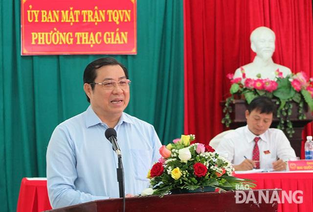 Ông Huỳnh Đức Thơ, Chủ tịch UBND TP Đà Nẵng - Ảnh: Báo Đà Nẵng