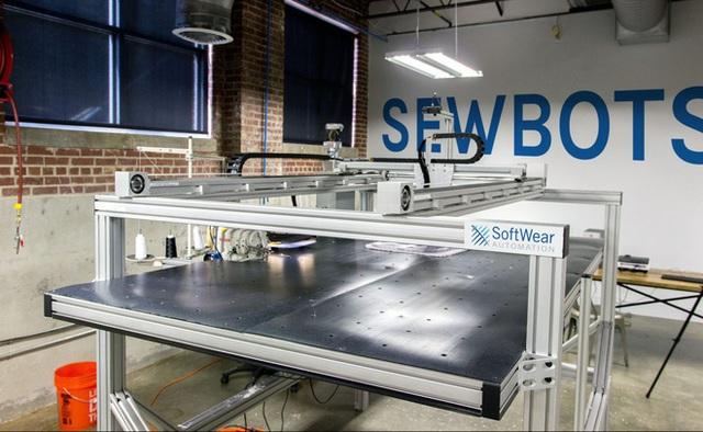 SoftWear Automation đang tạo ra cuộc một sốh mạng ngành dệt may.