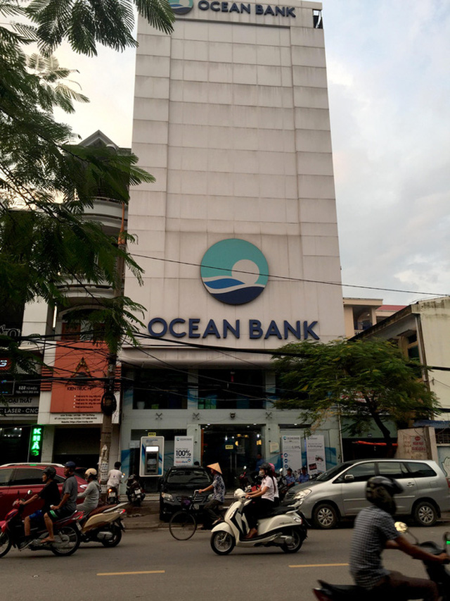 Chi nhánh ngân hàng OceanBank ở Hải Phòng