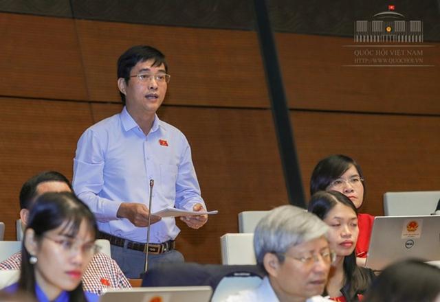 Đại biểu Hoàng Quang Hàm.