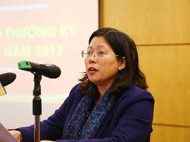 """Thứ trưởng Bộ TN&MT Nguyễn Thị Phương Hoa cho biết qua vụ """"giấy đỏ ghi tên cả gia đình"""", cần phải rút bí kíp, tiếp thu để đã đi vào hoạt động hệ thống pháp luật về quản lý đất đai. Ảnh: TP"""