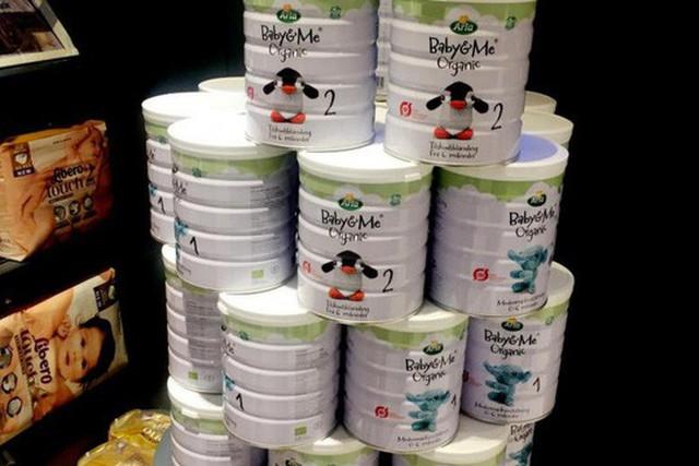 Sữa bột cho trẻ sơ sinh của Arla Foods. Ảnh: Reuters