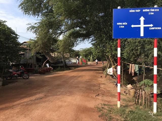 Cung đường biên giới chở bò lậu từ Campuchia về Việt Nam