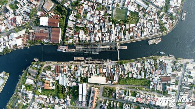 Công trình chống ngập gần 10.000 tỷ hoàn thành được 70% dự án.