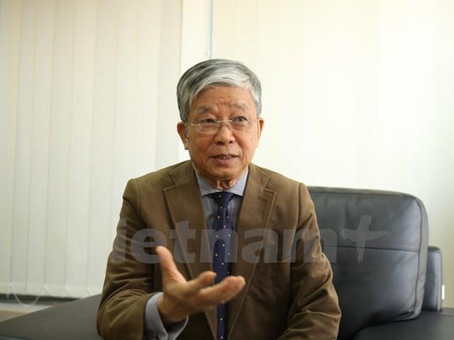 Ông Phan Thế Ruệ, Chủ tịch Hiệp hội Xăng dầu Việt Nam. (Ảnh: Doãn Đức/Vietnam+)