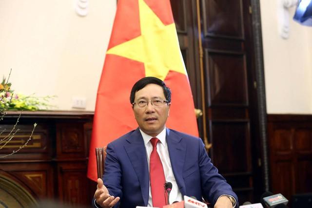 Phó Thủ tướng, Bộ trưởng Ngoại giao Phạm Bình Minh. Ảnh: Ngọc Thắng