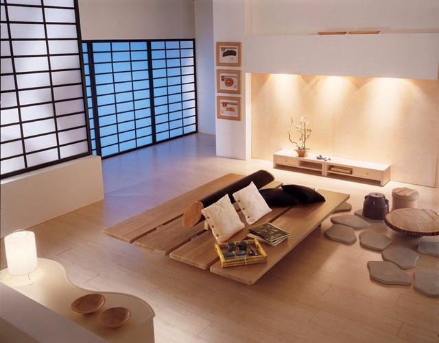 Những món đồ nội thất bằng gỗ luôn là ưu tiên hàng đầu trong các gia đình Nhật Bản.