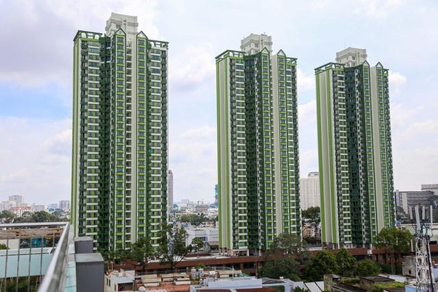 Cả 3 tòa tháp của Thuận Kiều Plaza đã hoàn tất việc thay áo