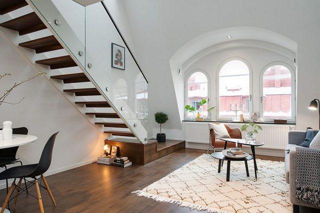 Tuy không có 1 diện tích rộng rãi nhưng các gì nhận được từ căn hộ cao tầng này đủ khiến khách mua nhận thấy tha hồ, dễ chịu.