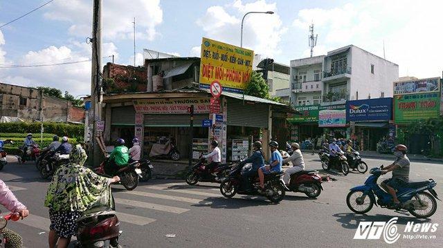 Căn nhà cướp giao lộ tuyến Lũy Bán Bích - Âu Cơ - Ba Vân (quận Tân Phú).