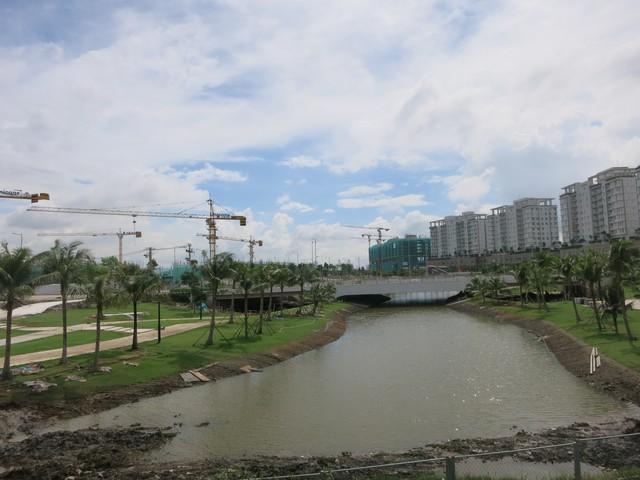 Khu thành thị Sala trongthành thị mới Thủ Thiêm