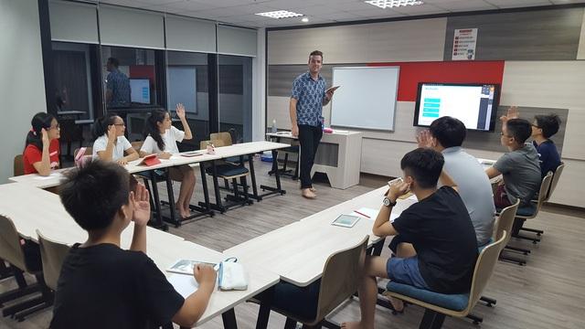 Một lớp học của Apax English