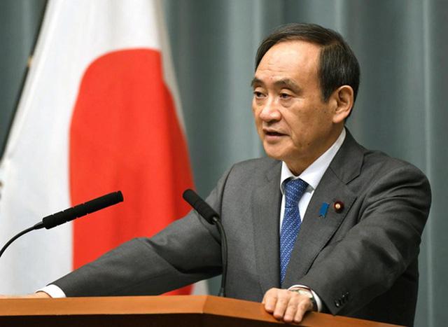 Ông Yoshihide Suga. Ảnh: Reuters