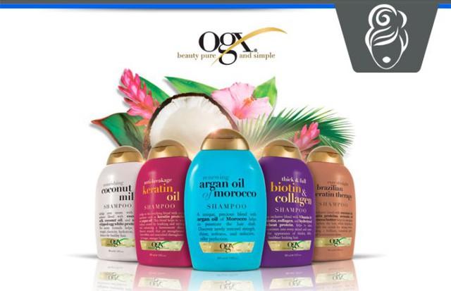 Thiết kế của OGX rất khác so với những sản phẩm chăm sóc tóc thông thường