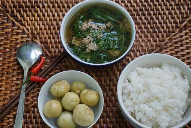Thói quen vô cùng phổ biến của người Việt từ xưa đến nay ít ai từ bỏ được chính là việc ăn cơm chan canh.