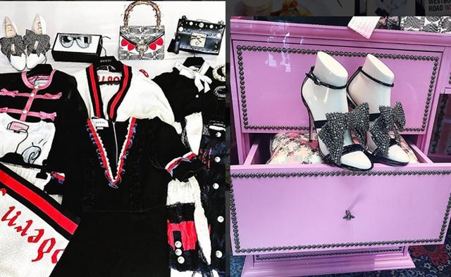 Nàng hậu 20 tuổi là tín đồ của các thương hiệu Gucci, Dior, Yves Saint Lauren, Louboutin, DG...