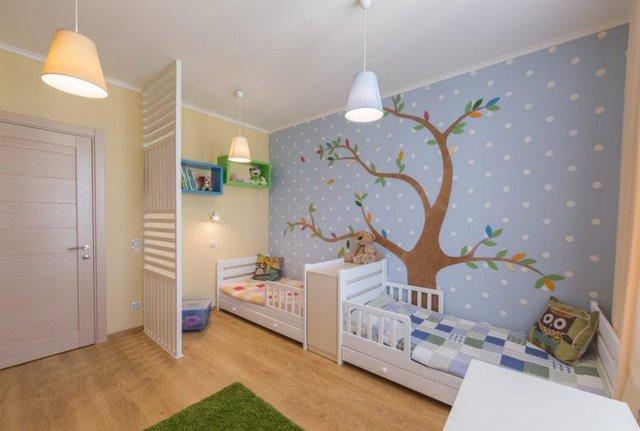 Không gian nơi đây được thiết kế đặc biệt vui nhộn dành cho những đứa trẻ trong gia đình.