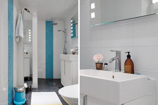 Tuy chỉ sở hữu một diện tích hết sức khiêm tốn, những phòng tắm này hoàn toàn có thể đáp ứng mọi nhu cầu sử dụng.