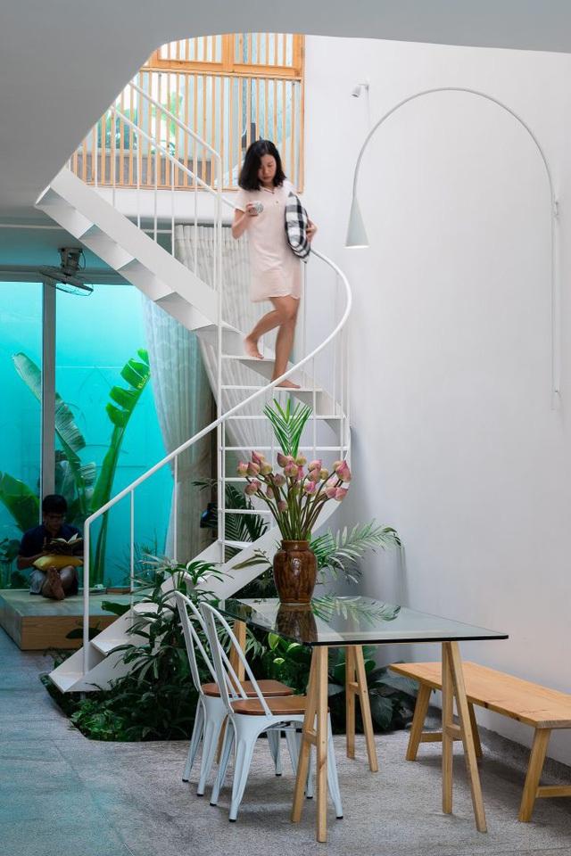 Với thiết kế thông minh mang đến không gian thoáng đãng, dễ chịu và thoải mái cho các thành viên trong nhà.