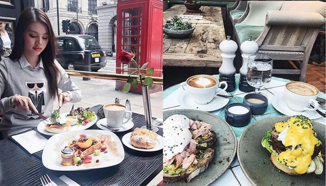Bữa sáng tại Rail House Café London bằng một bữa ăn sang chảnh tại nhà hàng ở Việt Nam với mức giá từ 450.000 – 750.000/món.