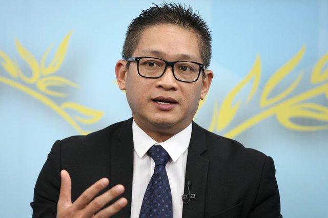 Ông Vũ Minh Trí – CEO Microsoft Việt Nam. Ảnh: Lê Anh Dũng