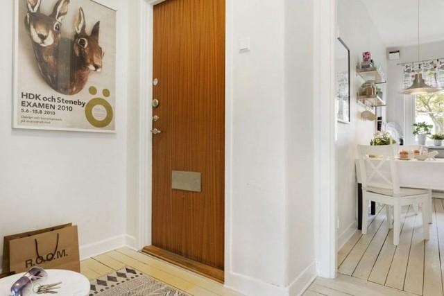 Trên tổng diện tích 50m², căn hộ cao tầng vẫn tạo ra được một vài không gian chỉ dành cho phòng khách, nhà bếp và phòng ngủ và khu vệ sinh.