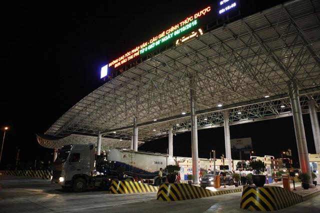 Trạm thu phí BOT Pháp Vân- Cầu Giẽ là 1 trong 7 dự án được Thanh tra Chính phủ kết luận có mức phí cao bất hợp lý (ảnh: VietNamNet)